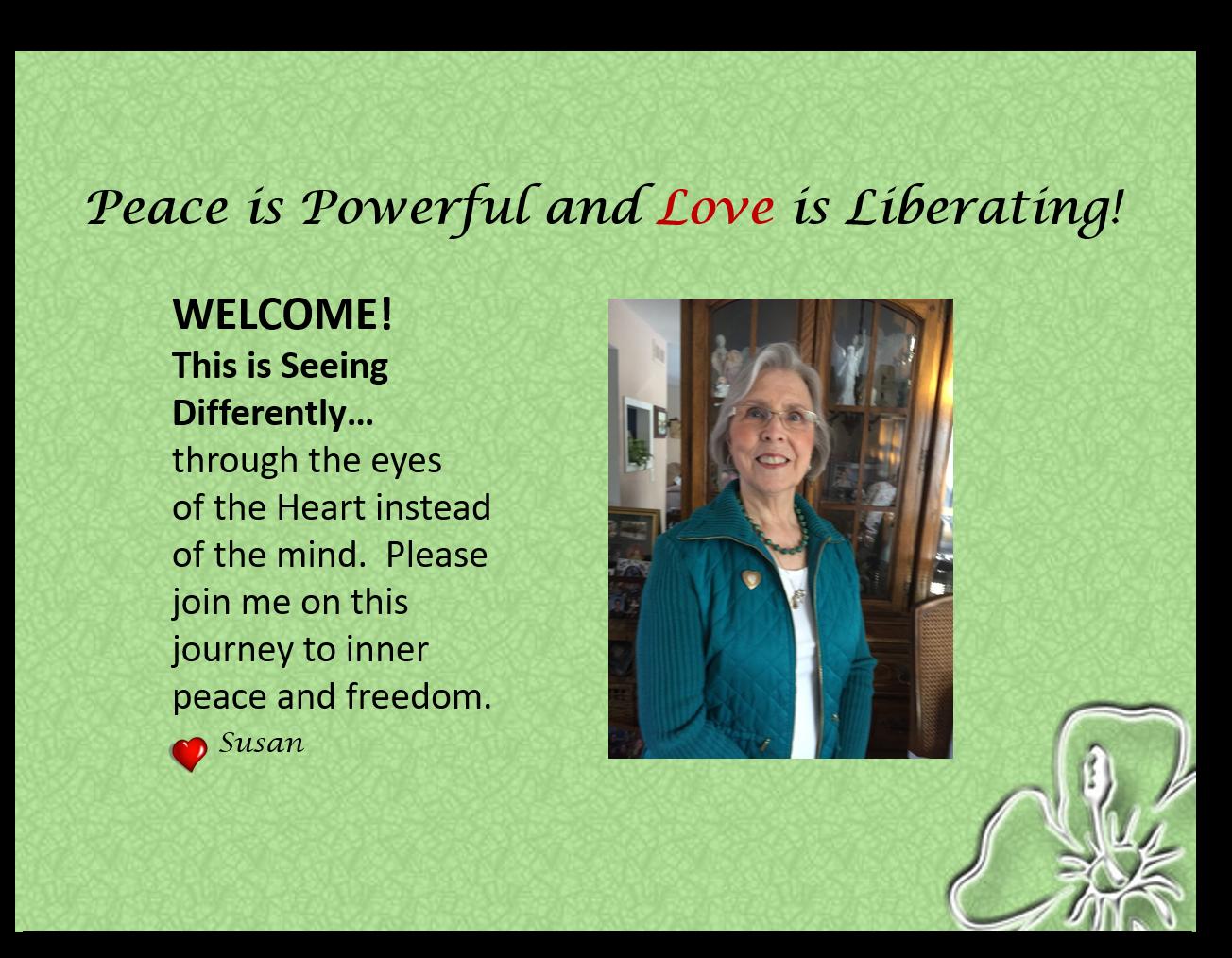 Susan Blog Welcome 2