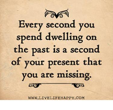 Dwelling on Past