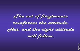 Forgiveness - Attitude