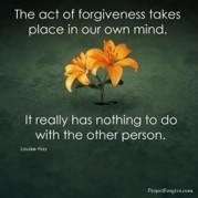 Forgiveness -for us