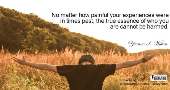 No matter how painful...