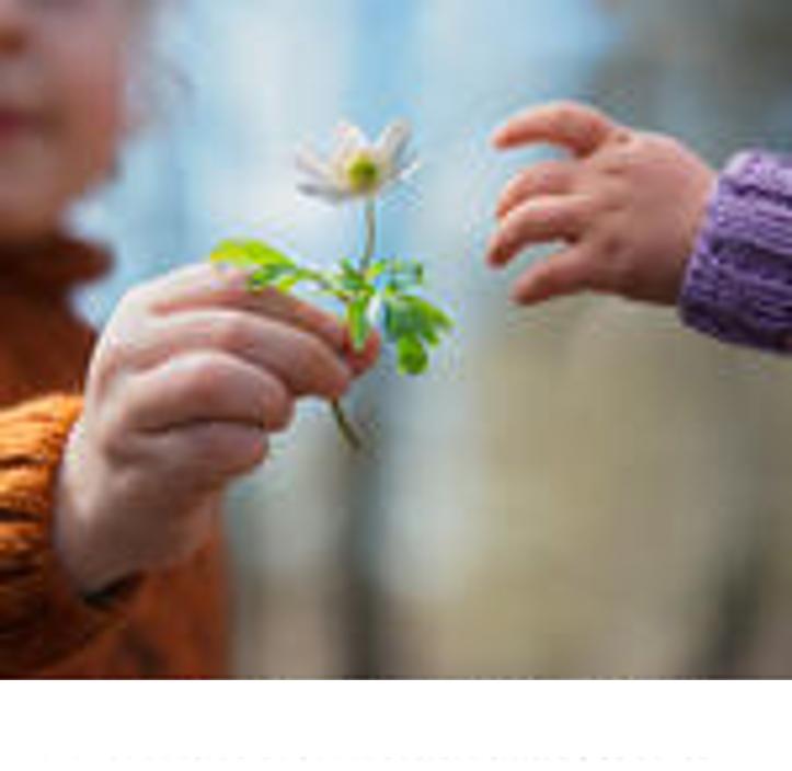 Child w-Flower